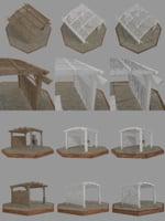 3D pergola