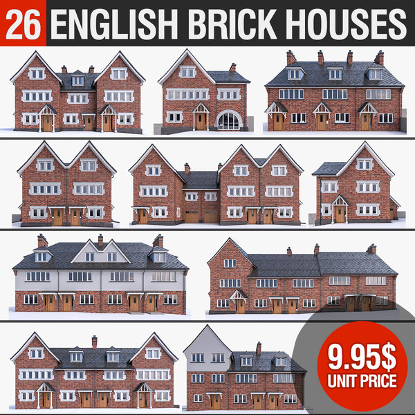3D 26 english - houses