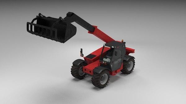 agriculture truck 3D model