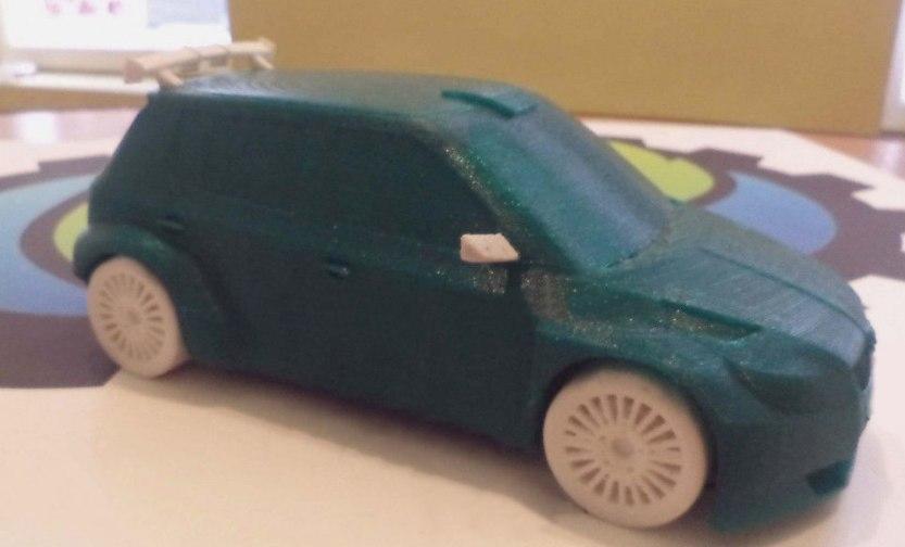 Car Fabia s2000 wrc 3D print model