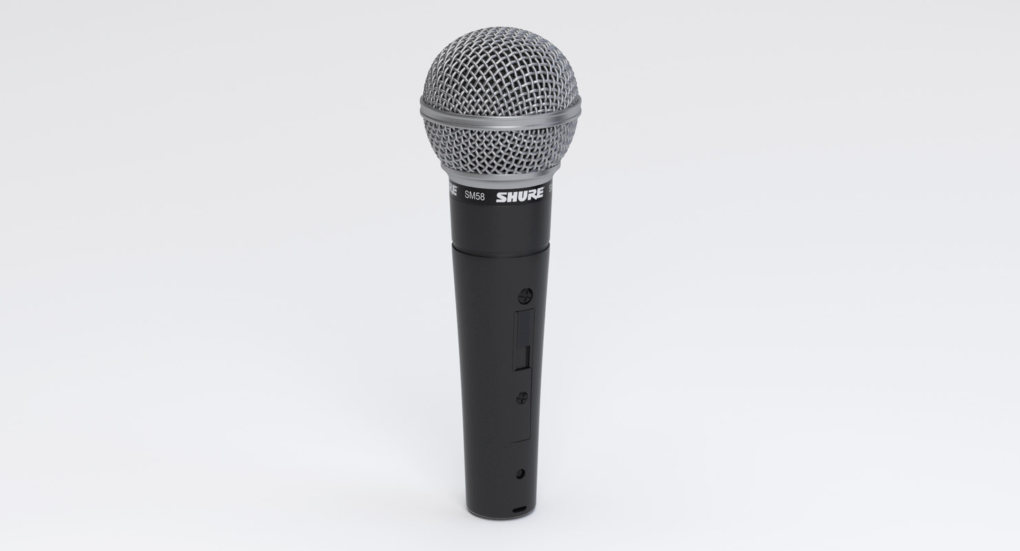shure sm58 vocal microphone model