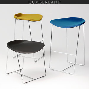 cumberland current stools 3D model