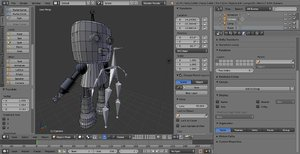small robot model