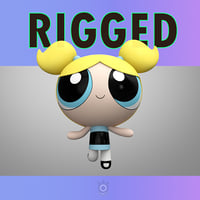 Powerpuff Girl Bubbles