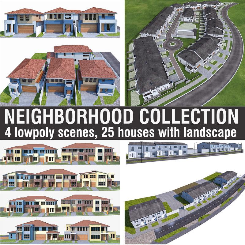3D model houses - 4