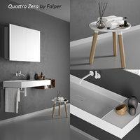 quattro zero washbasin 3D model