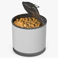 corn kernels 2 3D model