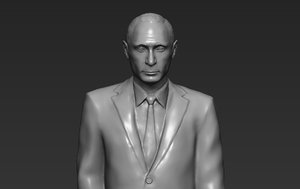 3D model vladimir putin ready printing
