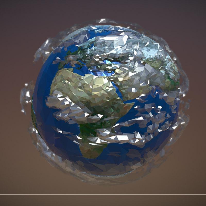 art planet earth model