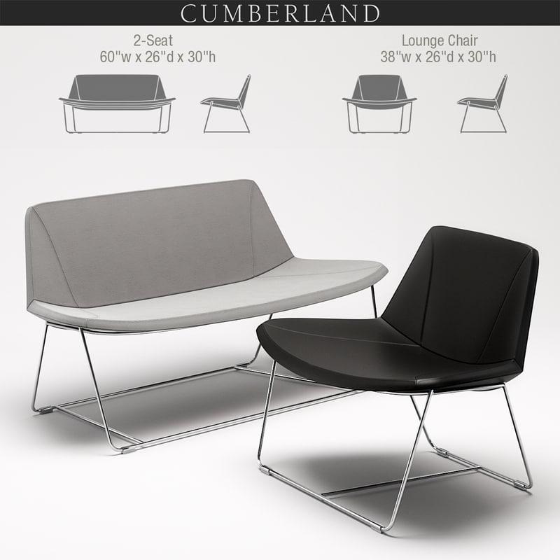 current lounge 3D model