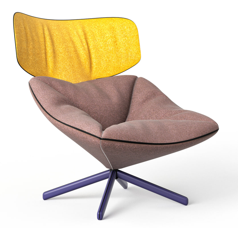 3D sancal tortuga lounge chair