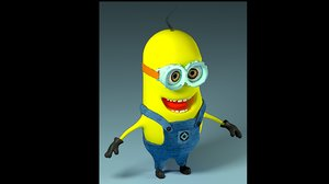 minion cartoon model