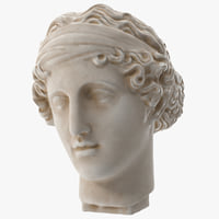 3D head aphrodite