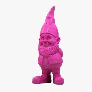 3D scan garden gnome