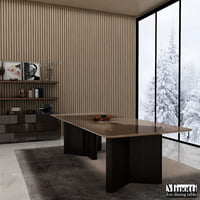 Minotti Lou dining table