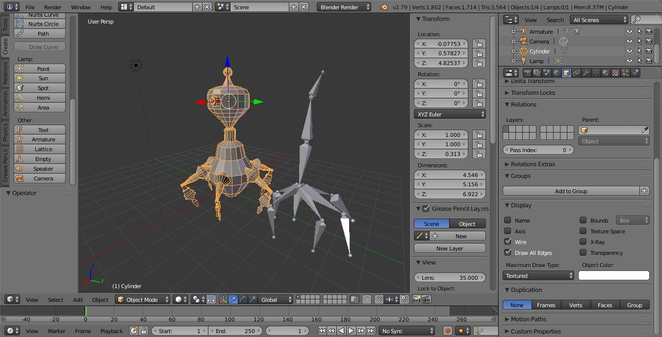 robot sentry walls 3D