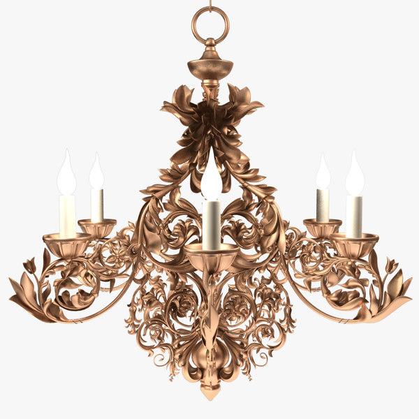 chandelier x3 model