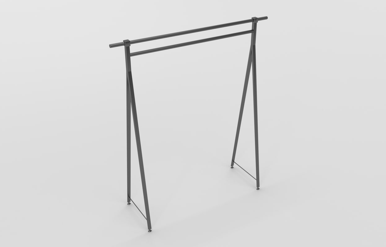 3D store stand hanger