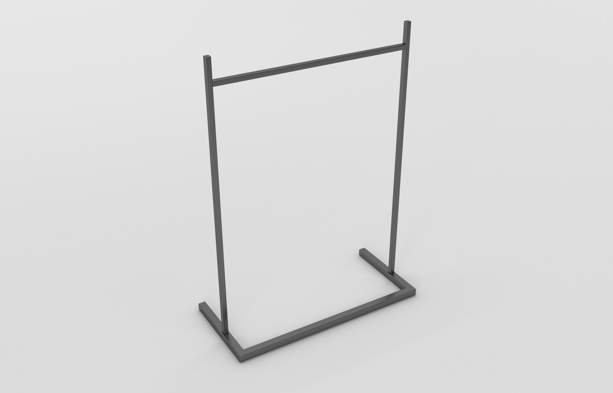 store stand hanger 3D