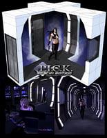 3D poser scifi base model