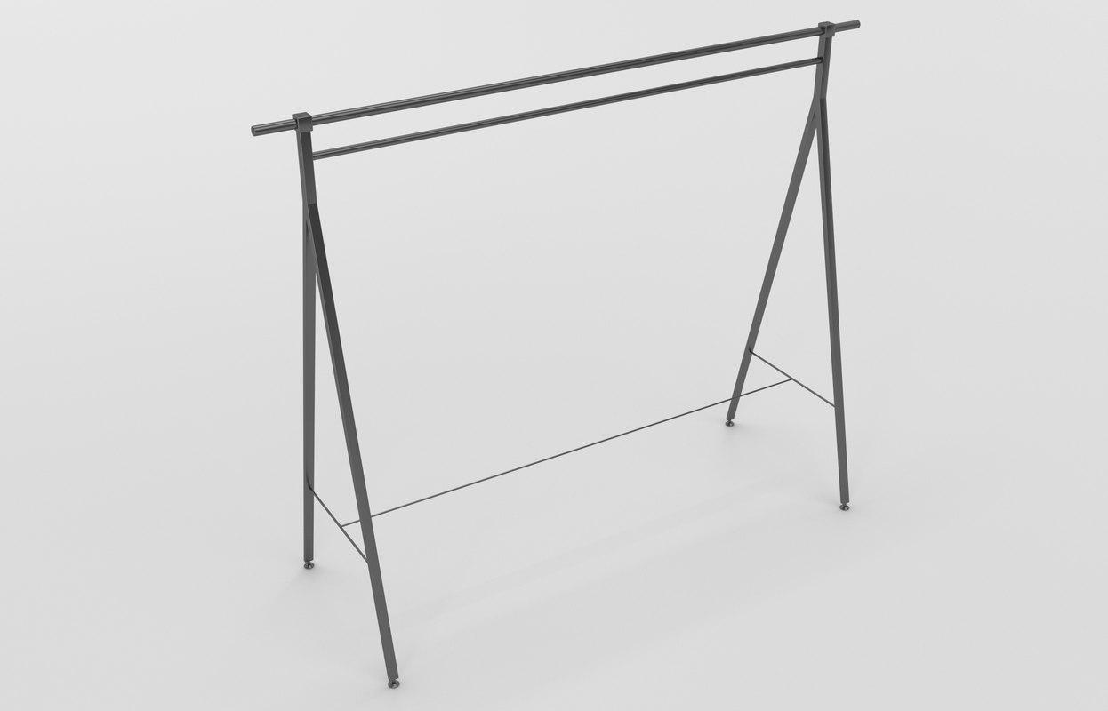 3D model store hanger