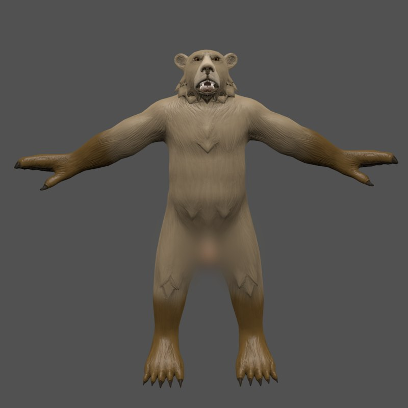 nsfw adult bear character model
