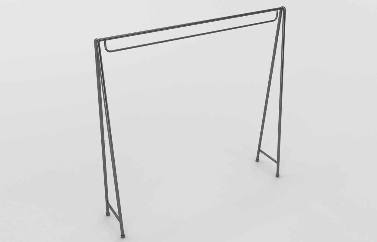 store hanger 3D model