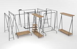 store shelf 3D model