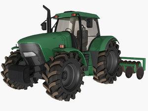 farm tractor model