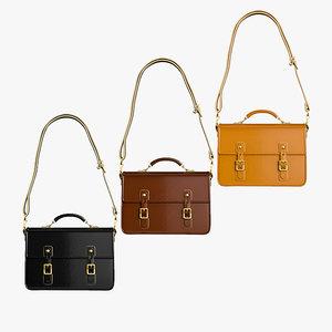 shoulder bag 02 3D model
