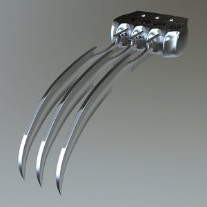 steel claws 3D