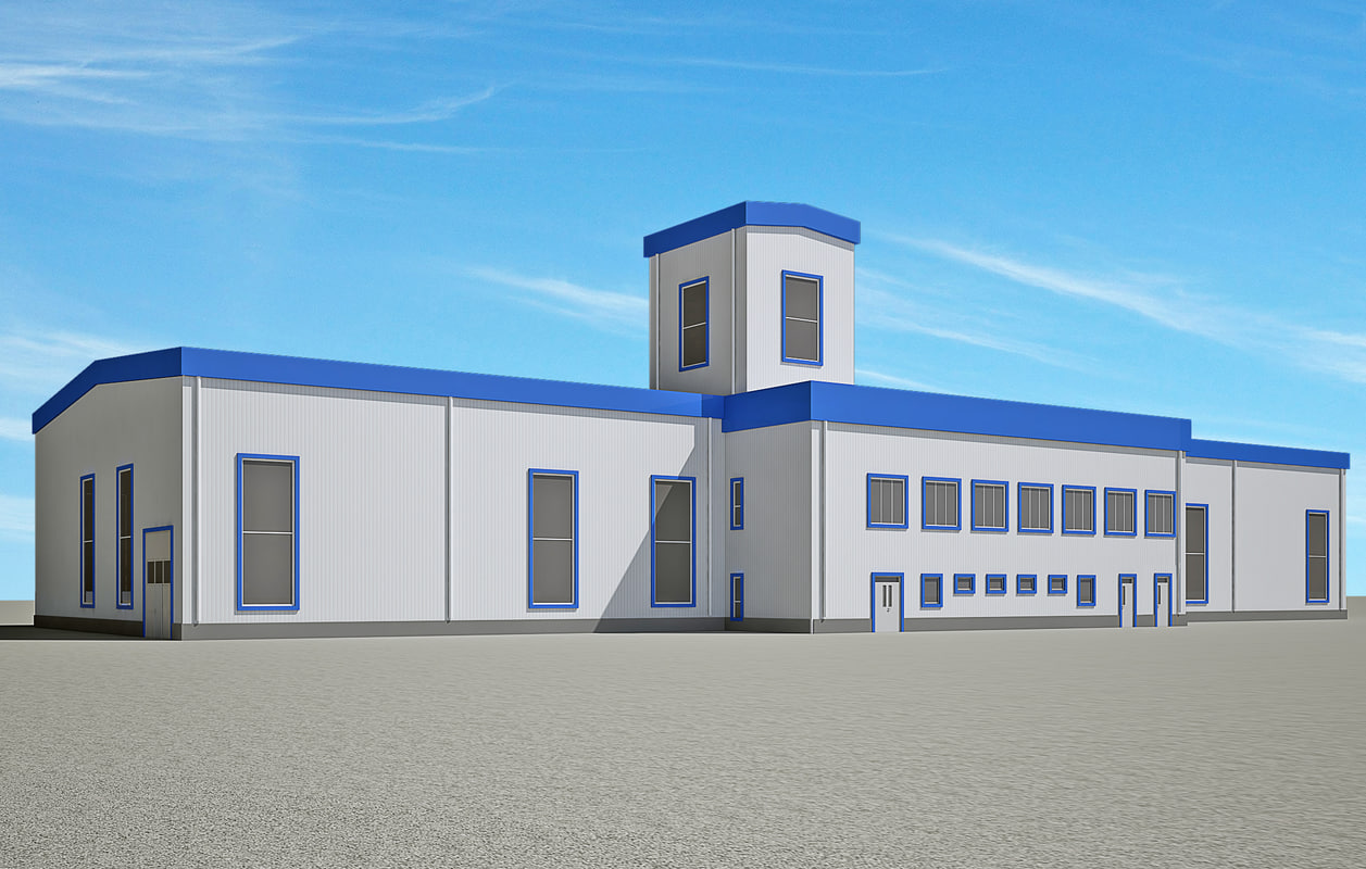 warehouse contains 3D