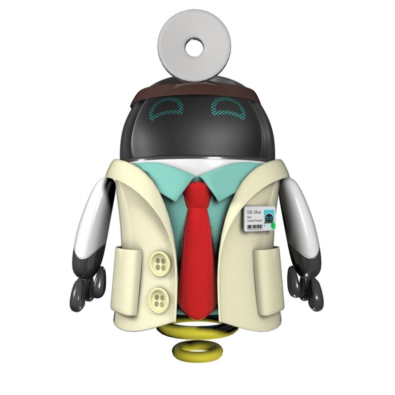 robots doctor drone model