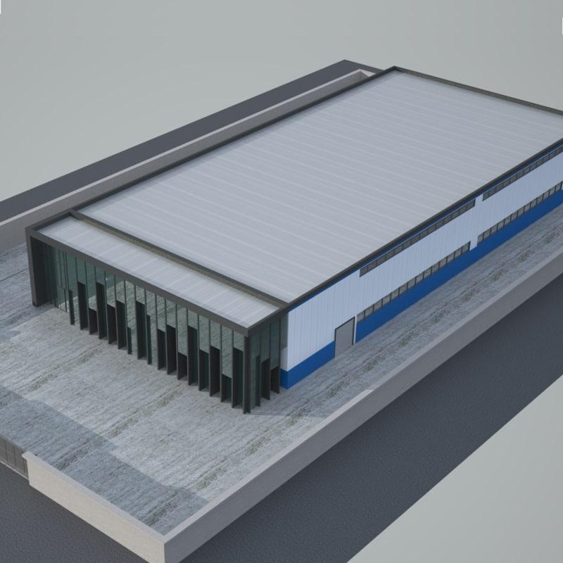 factory 3 industrial model