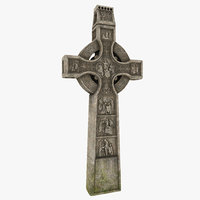 3D model celtic cross