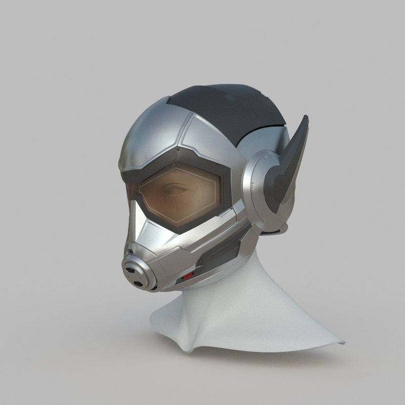 wasp helmet print 3D model