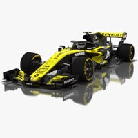 Renault Sport R.S.18 Formula 1 Car Season 2018