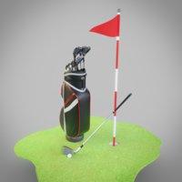 golf bag model