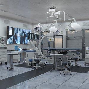3D surgery room