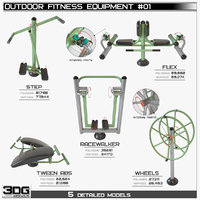 Outdoor Fitness Equipment #01