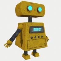 simple robot 3D