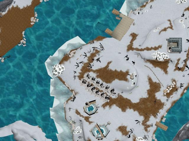 3D lake lak model
