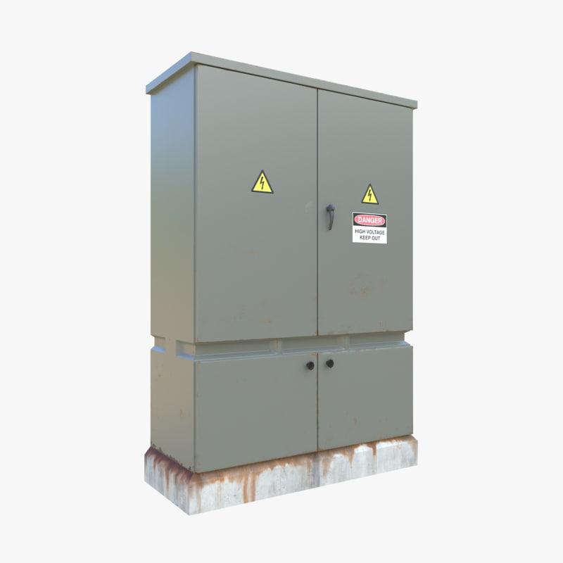3D electrical box