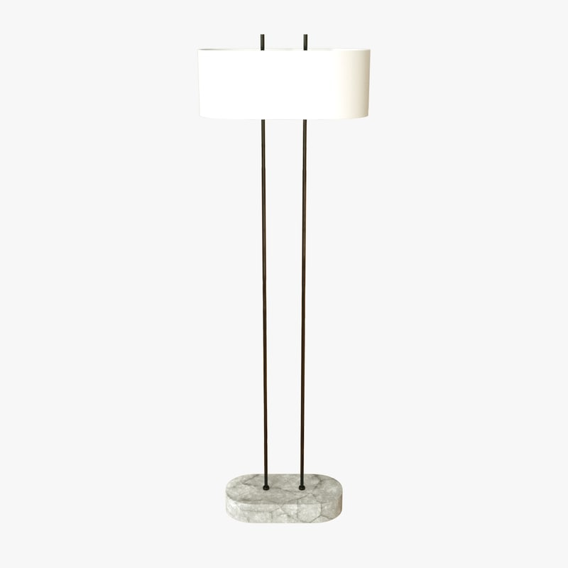 3D model shiro floor lamp
