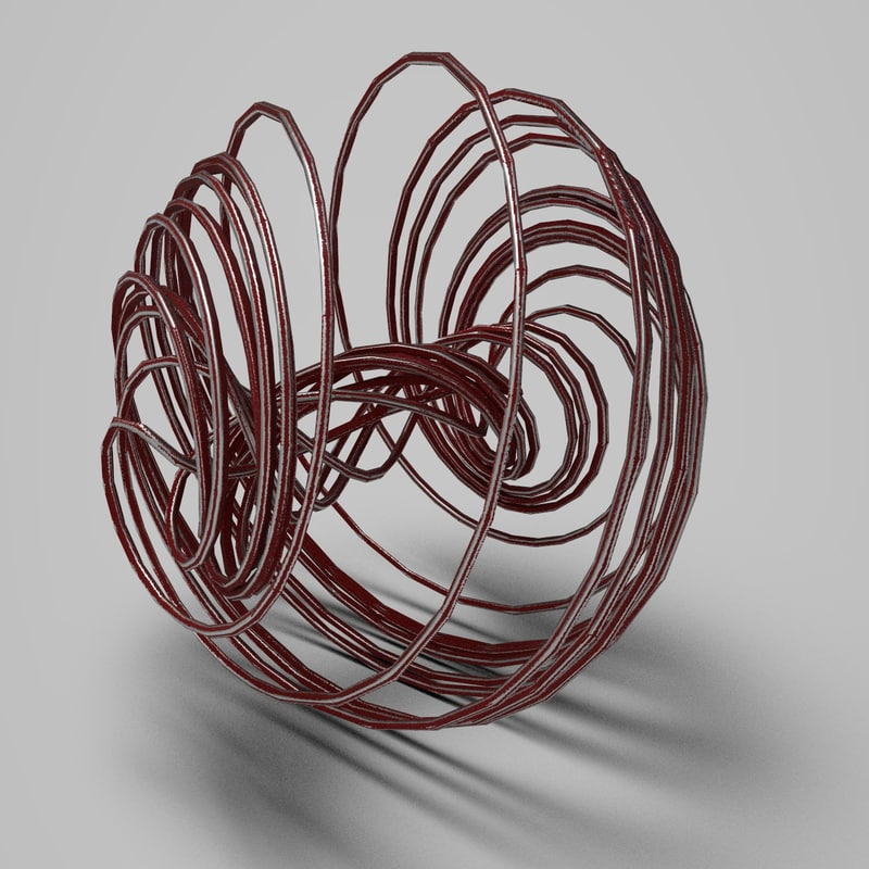 3D aizawa attractor