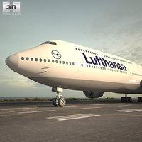 boeing 747 8i 3D