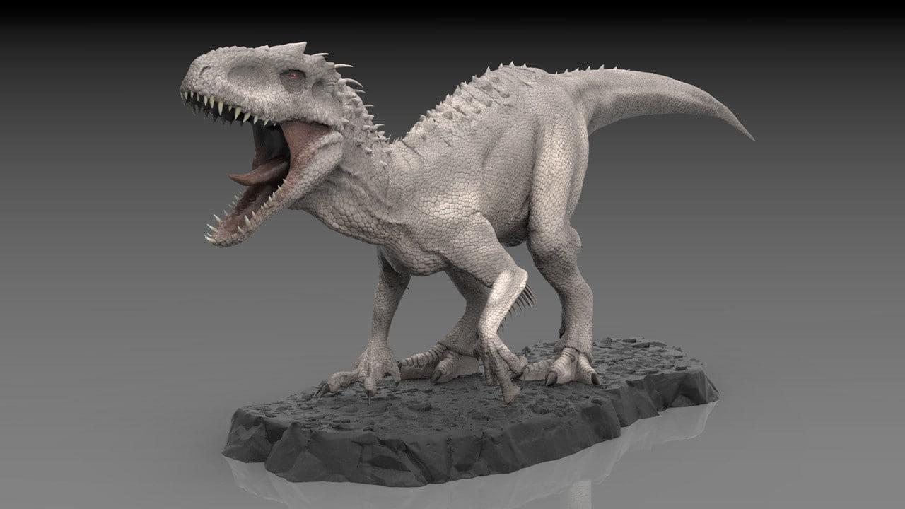 3D indominus rex model