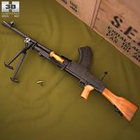 bren mk2 mk 3D model