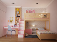 children bedroom 3D