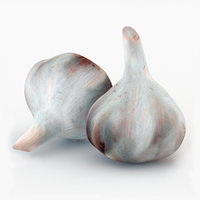3D garlic v-ray subdivision